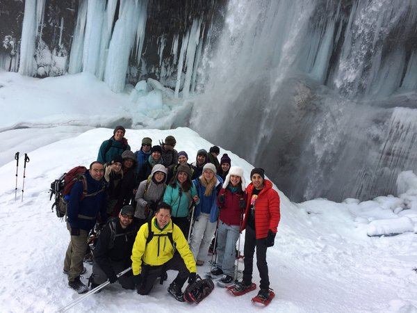 AYM Winter Weekend - Tamanawas Falls