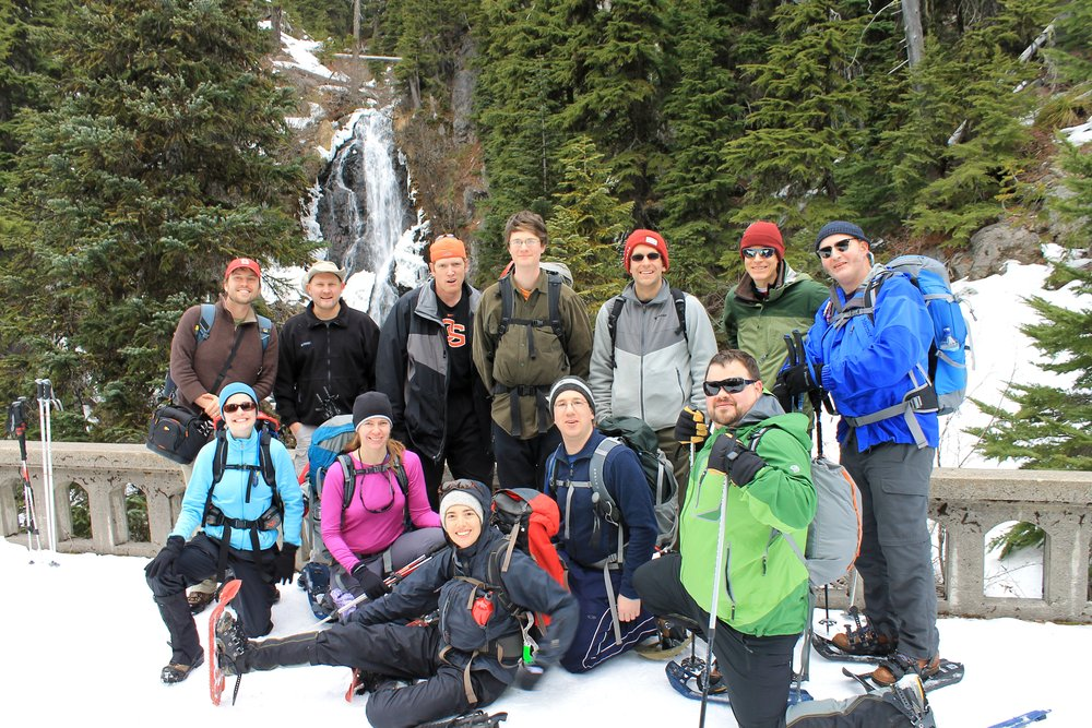 AYM Winter Weekend Snowshoe